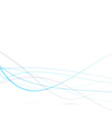 Speed lines background - blue swoosh vector image