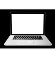 Computer laptop vector image vector image