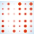 Abstract halftone circle design EPS 8 vector image