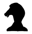 knight - chess figure vector image