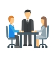 Business Competition vector image