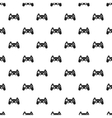 Video game controller pattern simple style vector image