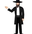 Orthodox jewish man vector image