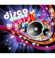 music flyer background vector image