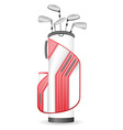 golf 12 vector image