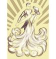 waltz dancing vector image