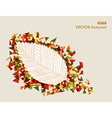 Abstract hand drawn leaf autumn concept EPS10 file vector image