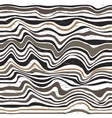 Abstract skin zebra pattern vector image