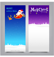 026 Merry Christmas santa banner vector image