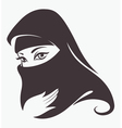 arabian beauty vector image vector image