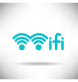 WiFi Graphic vector image vector image