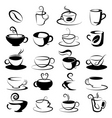 Coffee and tea design vector image