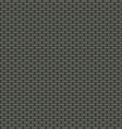 Dark brick wall seamless background vector image