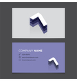 business card number 7 vector image