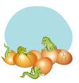 baby dragons vector image
