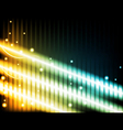 energy beams vector image