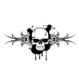 skull and patterns 110712 vector image