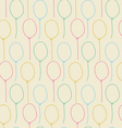 Balloon seamless pastel color background vector image vector image