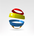 Separating Ball vector image