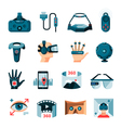 Virtual Augmented Reality Accessories vector image