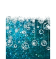 Christmas background template EPS 8 vector image