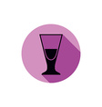 Alcohol beverage theme icon blend or cocktail vector image