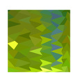 June Bud Green Abstract Low Polygon Background vector image
