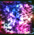 abstract colorful geometric modern background with vector image