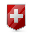 Coat of arms of Switzerland vector image