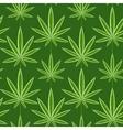 Marijuana background seamless patterns vector image