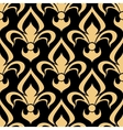 Royal french seamless fleur-de-lis pattern vector image