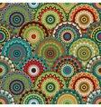 boho chic flower seamless pattern Elegant vector image vector image