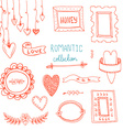 RomanticSwirls5 vector image