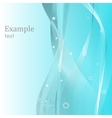 Abstract template design background vector image