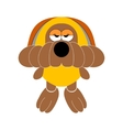 dog soft toy doggy vector image