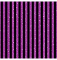 Parallel Vertical lines Pink sequins Stars vector image