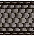 seamless monochrome pattern modern stylish vector image