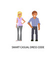 business dress code vector image