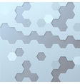 Hexagon tile background template vector image