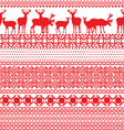 seamless patterns with the Lapland vector image