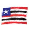 Grunge Maranhao flag vector image
