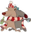 Friends Cartoon vector image