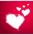 Shiny Valentine Heart vector image