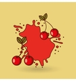smothie fruit design vector image