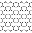 honey comb cells seamless pattern vector image