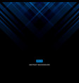 abstract blue technology design corporate vector image