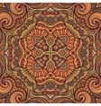 Abstract decorative ethnic seamless pattern vector image vector image
