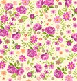 cream rose background vector image