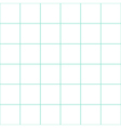 Mint Green Grid White Background vector image