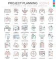 business finance project planning ultra vector image